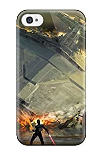 YY-ONE For Iphone 4/4s, Artistic Swtfu Star Destroyer Force Pull Pattern