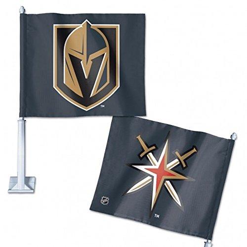 VEGAS GOLDEN KNIGHTS CAR FLAG 11.75