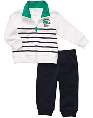 Carter's Baby Boys' Quick & Cute Cardigan Set