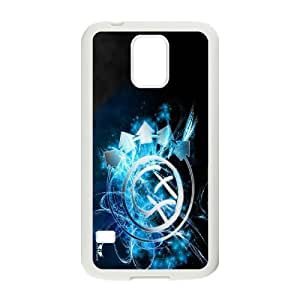 Unique Phone Case Pattern 12Blink 182 Music Band- For Samsung Galaxy S5