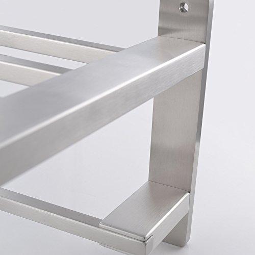 Kes Sus304 Stainless Steel 22 Quot Hotel Towel Rack Bathroom