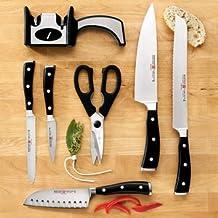 WUSTHOF Classic Ikon 7-Piece Cutlery Set; You Choose the Storage Option