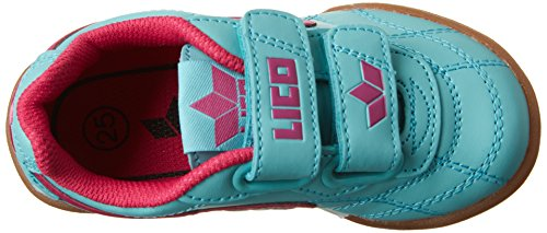 Lico Bernie V - Zapatillas deportivas para interior de material sintético infantil verde menta