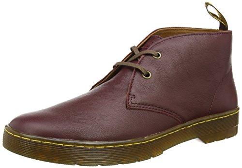 Dr. Martens CABRILLO Virginia - botas desert de piel hombre rojo - Rot (Cherry Red)