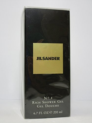 Jil Sander No.4 Shower Gel for Women 5 oz New In Box