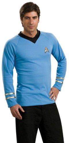 Delux (Star Trek Classic Blue Shirt Deluxe Costumes)