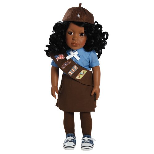 Costume Scout Girl Brownie - Adora Play Doll Madison - Girl Scout Brownie 18