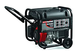 Coleman Powermate PM0435003 5,000 Watt 10 HP Portable Generator
