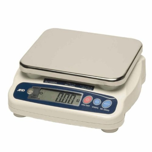 Image of Digital Scales A&D Weighing SJ-5000HS Digital Portion Scale, 5000g x 2g