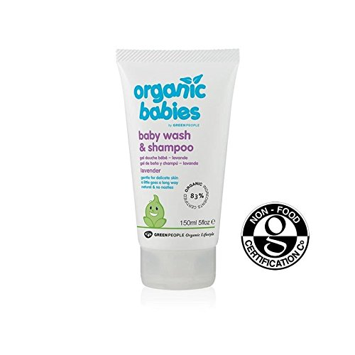 Organic Babies Lavender Baby Wash & Shampoo 150ml - Pack of 6 by Organic Babies