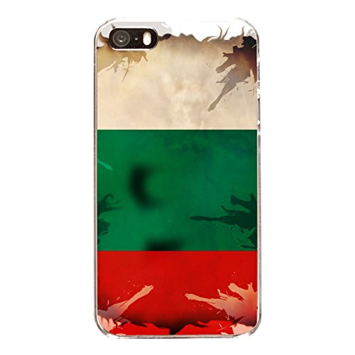 "Disagu Design Case Coque pour Apple iPhone 5 Housse etui coque pochette ""Bulgarien"""
