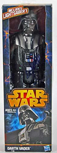 Hayden Christensen Star Wars Signed Darth Vader Action Figure #W16652 - PSA/DNA Certified - Movie Figurines