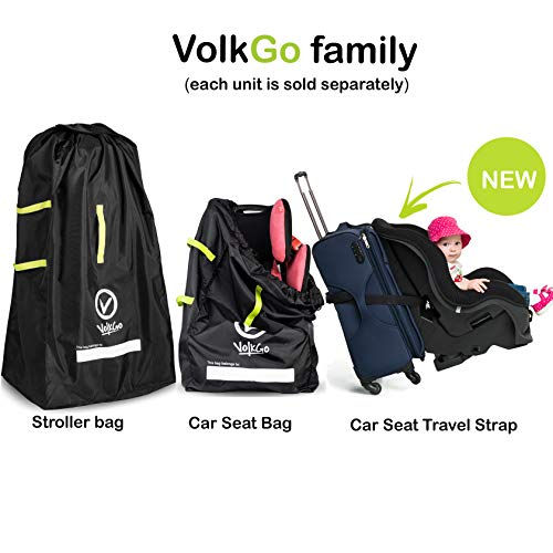 VolkGo Car Seat Travel Strap Belt To Convert And Carry