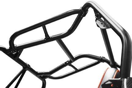 Dragonfire Racing Headache Bars Black for Pol RZR 800 RZR S RZR XP 900 All Years