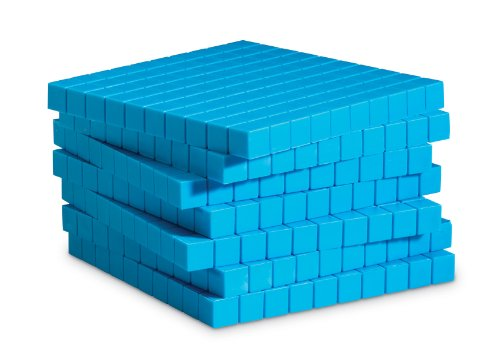 Learning Resources Plastic Base Ten Flats, 10 Piece]()