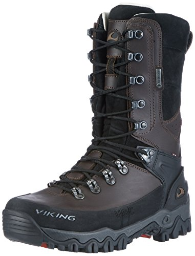 Viking Unisex Adults' Hunter High GTX Hunting Boots Brown (Dark Brown) hTWsQanYt5