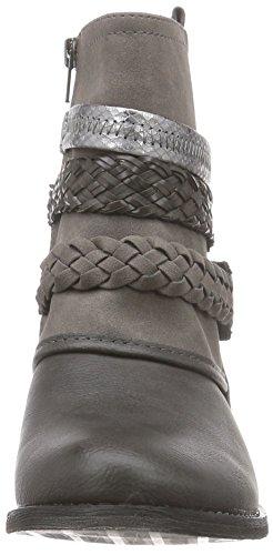 BULLBOXER 439F6S664 - Botas altas de material sintético mujer gris - Grau (DKGY)