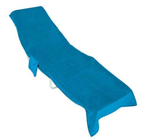 Sanders Classics Lounge Chair Towels--Turquoise by Sanders Classics