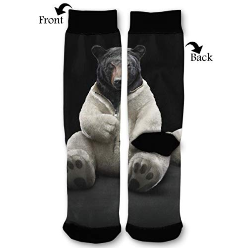 Fashion Travel Breathable Socks Bear Funny 4k Ultra Hd Wallpaper Men & Women Running Casual Socks]()