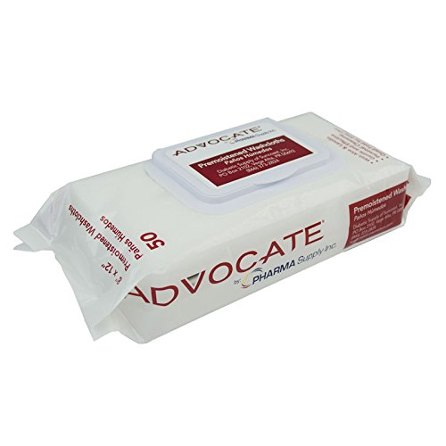 Advocate Pre-Moistened Washcloths, 12 Count (Pack of 12) by Advocate (Image #1)