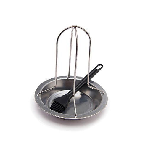 GrillPro 41333 Stainless Chicken Roaster