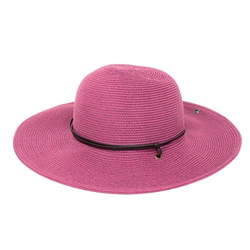 Peter Grimm Womens Coralia Resort Sun Hat - Lilac