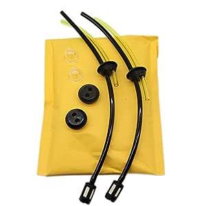 SWNKDG 2ps Universal Kit de filtros de gasolina Tubo Sello para ...