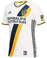 2016-2017 Adidas LA Galaxy Authentic Home Jersey (White)