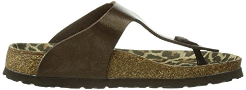 Papillio Graceful Zuecos Gizeh Mujer Toffee Para RxrR8nqO