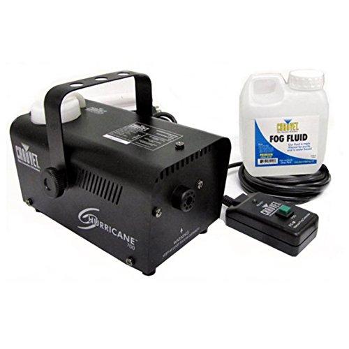 Chauvet DJ Hurricane Pro Fog Smoke Machine with Fog Fluid and Remote | H700 (Halloween Smoke Machine)