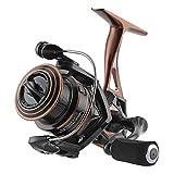 SeaKnight Spinning Reel NAGA II Lightweight Smooth Fishing Reel 9+1 BB Full Metal Body Max Drag 33Lbs Fishing Reel