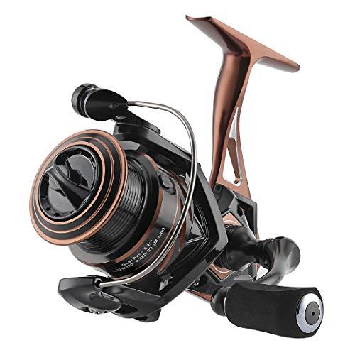 SeaKnight Spinning Reel NAGA II Lightweight Smooth Fishing Reel 9 1 BB Full Metal Body Max Drag 33Lbs Saltwater Reel