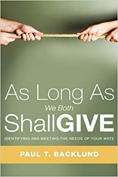 Book As Long As We Both Shall Give