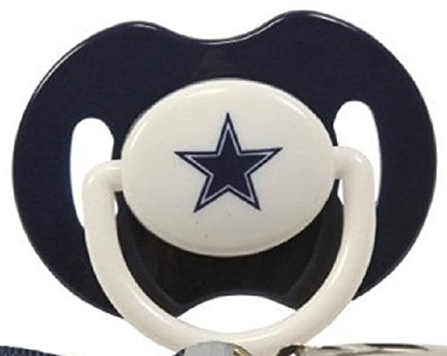 Dallas Cowboys Pacifiers Pack Safe