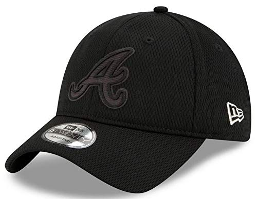2015 Fleer Mlb Baseball - New Era Men's Atlanta Braves Cap Hat Players Weekend MLB Baseball 9Twenty 920 Black