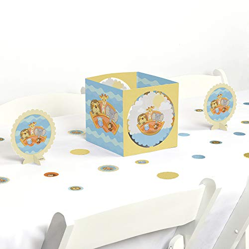 Big Dot of Happiness Noah's Ark - Baby Shower or Birthday Party Centerpiece & Table Decoration Kit - Noahs Ark Centerpieces