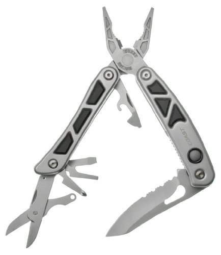 Coast C5899 LED150 2-LED Pro Pocket Pliers Multi Tool, Outdoor Stuffs