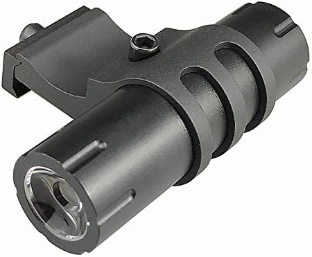 Persei Compact Flashlight 100 Lumens with 90 Degree Offset Rail Mount and Detachable Remote Pressure Switch
