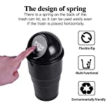 JUSTTOP Mini Car Trash Can, Small Automatic