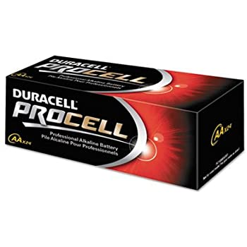 Amazon.com: Duracell Procell Alkaline Batteries, AA, 24
