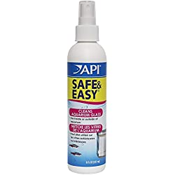 API SAFE & EASY Aquarium Cleaner Spray 8-Ounce Bottle