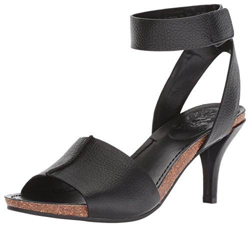Vince Camuto Women's Odela Heeled Sandal, Black, 7.5 M US
