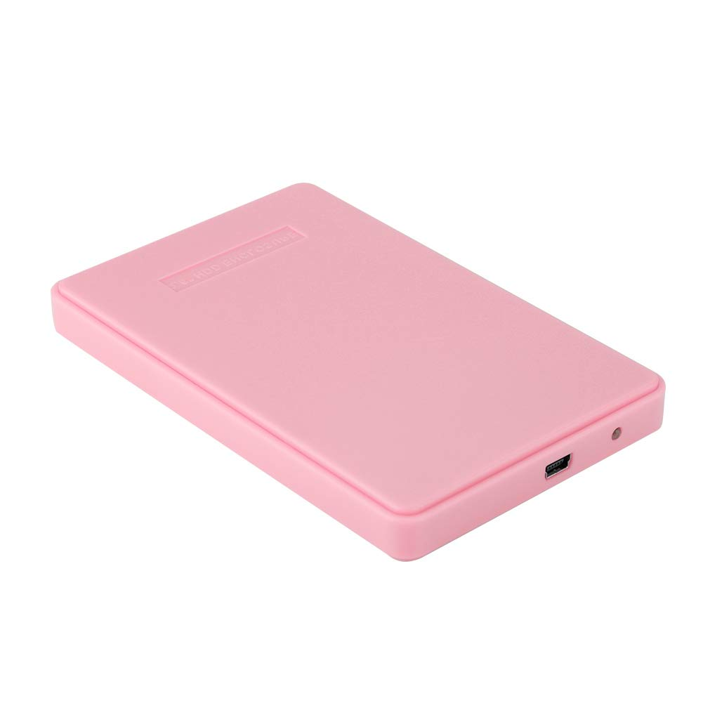 Amazon.com: Wendry External Hard Drive Case, 2.5inch SATA to ...