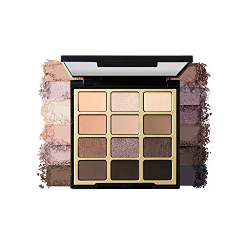Milani Soft & Sultry Eyeshadow Palette (0.48 Ounce) 12 Cruelty-Free Smoky Matte & Metallic Eyeshadow Colors for Long…