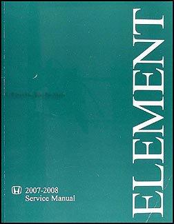 2007 honda element owners manual - 6