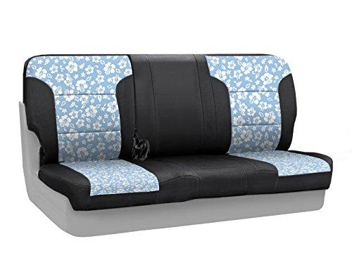 CoverKing Custom Fit Rear Split Bench Seat Cover for Sele...