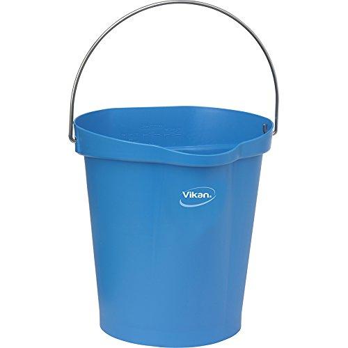 Vikan Polypropylene Blue 3 Gallon Pail
