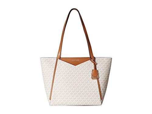 Michael Kors Whitney Ladies Large Logo Twill Tote Handbag 30S8GN1T3B150 ()