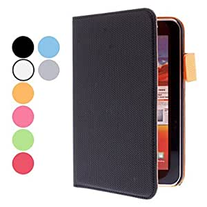 ZCL Basketball Grain Protective PU Leather Case for Samsung Galaxy Tab P3100 (Assorted Colors) , Black