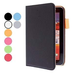 MOFY- Baloncesto Grain funda protectora de cuero de la PU para Samsung Galaxy Tab P3100 (colores surtidos) , Naranja